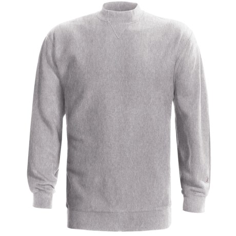 Boathouse 12 oz. Fleece Sweatshirt (For Men) in Grey