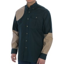 Bob Allen High Prairie Hunting Shirt - Long Sleeve (For Men) in Blue/Tan - Closeouts