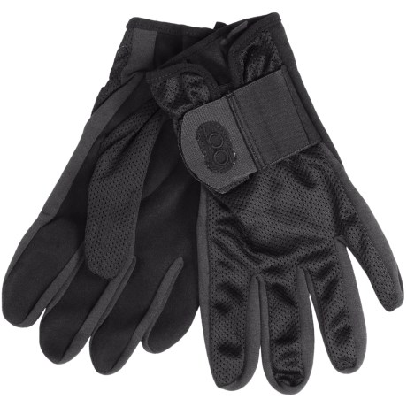 Bob Allen Mesh Body Shotgun Gloves - Suede Palm (For Men) in Black