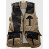 Bob Allen Shooting Vest - Leather and Mesh, Right Hand (For Men)