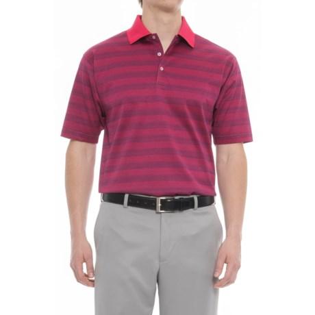 63bd9965 Bobby Jones Greenwich Jacquard Pima Golf Polo Shirt - Short Sleeve (For  Men) in