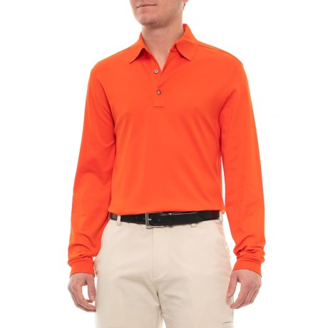 7e03a67178ce Bobby Jones Solid Supreme Cotton Shirt - Long Sleeve (For Men) in Ember