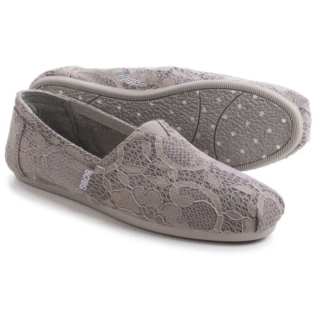 BOBS from Skechers Plush Blossom Shoes Slip Ons (For Women)
