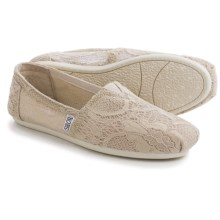 BOBS from Skechers Plush Blossom Shoes - Slip-Ons (For Women) in Natural - Closeouts