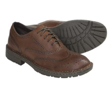 B.O.C. by Born Earnshaw Wingtip Shoes - Full-Grain Leather (For Men) in Autumn Full Grain - Closeouts