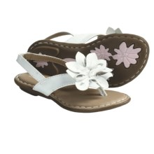 B.O.C. by Born Faye Sandals - Flower Accent (For Toddler Girls) in White - Closeouts