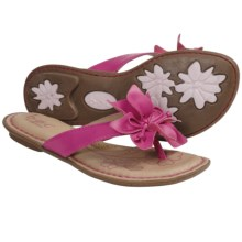 B.O.C. by Born Paige Thong Sandals (For Girls) in Fuchsia - Closeouts