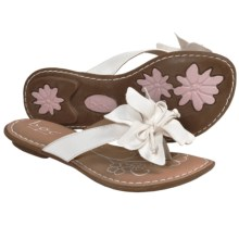 B.O.C. by Born Paige Thong Sandals (For Girls) in White - Closeouts
