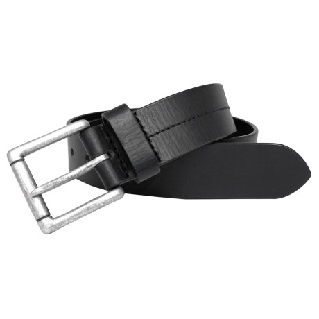 Boconi 35mm Cut-Edge Belt - Leather (For Men) in Black