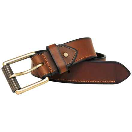 Boconi 40mm Leather Belt (For Men) in Cognac - Closeouts