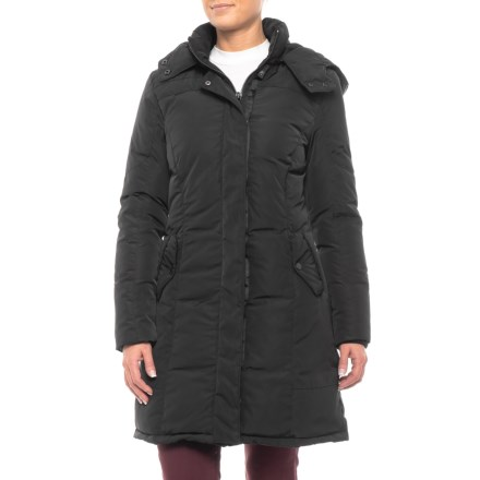 df03a4f41f322 Clearance. Bod   Christensen Tessa Long Hooded Down Jacket (For Women) in  Black - Closeouts