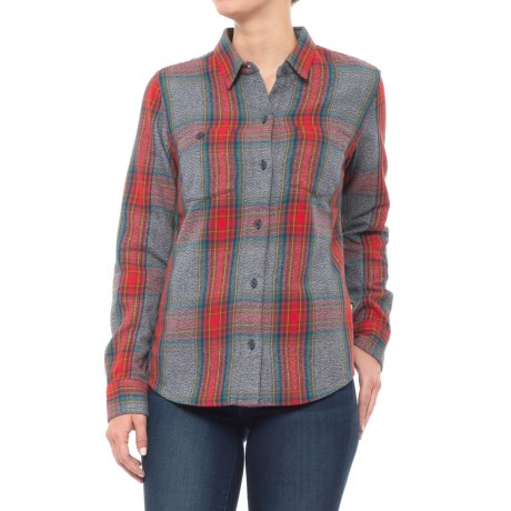 Image of Bodie Flannel Shirt - Organic Cotton, Long Sleeve (For Women)