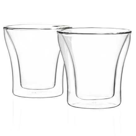 Bodum Assam Double-Wall Thermo-Glasses Set - 2-Piece,3 fl.oz. in Clear - Closeouts