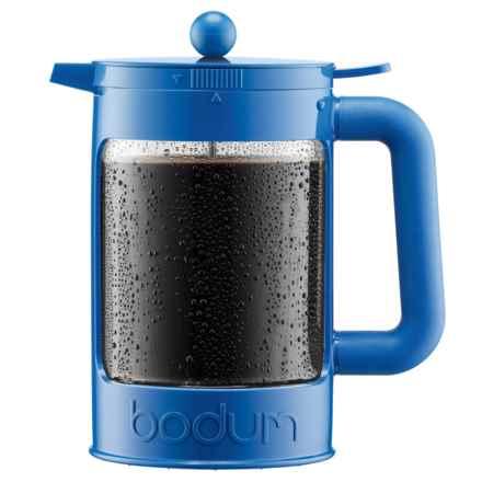 Bodum Bean Iced Coffee Maker - 51 fl.oz. in Blue - Closeouts