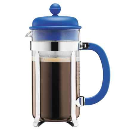 Bodum Caffettiera 8-Cup French Press Coffee Maker - 34 fl.oz., Green in Blue - Closeouts