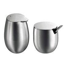Bodum Columbia Sugar and Creamer Set - Stainless Steel in Stainless - Closeouts