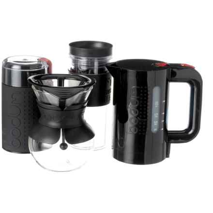 Pour Over Coffee Maker Set - 4-Piece in See Photo - Closeouts