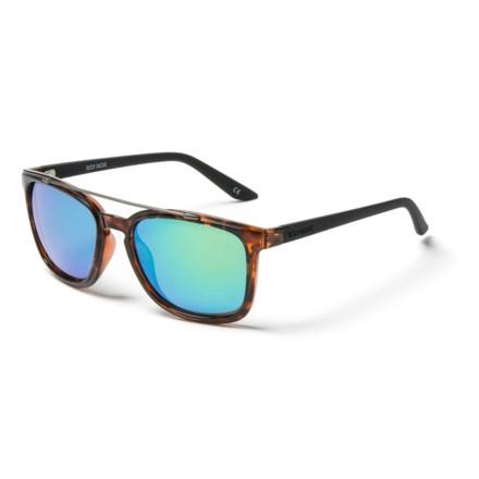 266195a2a530 Body Glove 1804 Demi Mirror Sunglasses - Polarized (For Men) in Tortoise