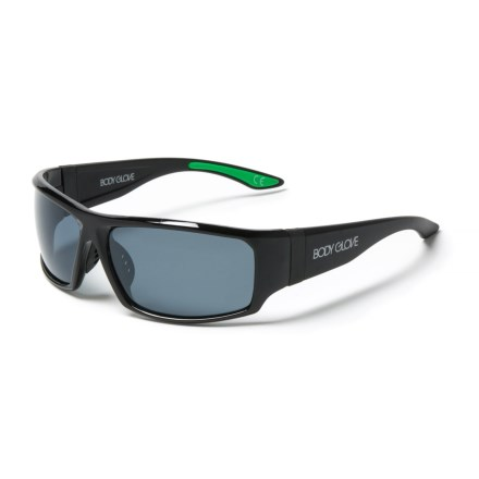 cddf049de1 Body Glove 2 Sport Wrap Sunglasses - Polarized (For Men) in Black