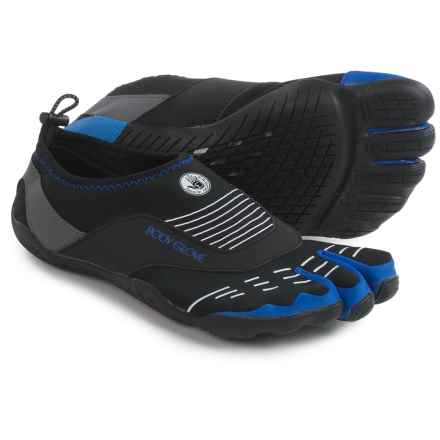 Body Glove 3T Barefoot Cinch Water Shoes (For Men) in Black/Blue - Closeouts