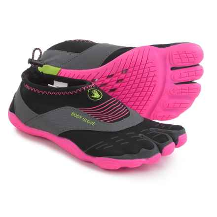 Body Glove 3T Barefoot Cinch Water Shoes (For Women) in Black/Neon Pink - Closeouts