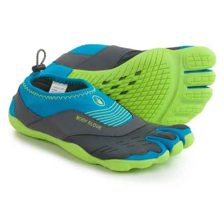 Body Glove 3T Barefoot Cinch Water Shoes (For Women) in Blue/Green - Closeouts