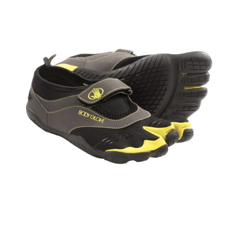 Body Glove 3T Barefoot Max Shoes - Minimalist, Amphibious (For Men) in Black/Yellow