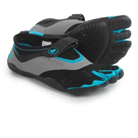 Body Glove 3T Barefoot Max Shoes - Minimalist, Amphibious (For Women) in Black/Neon Blue - Closeouts