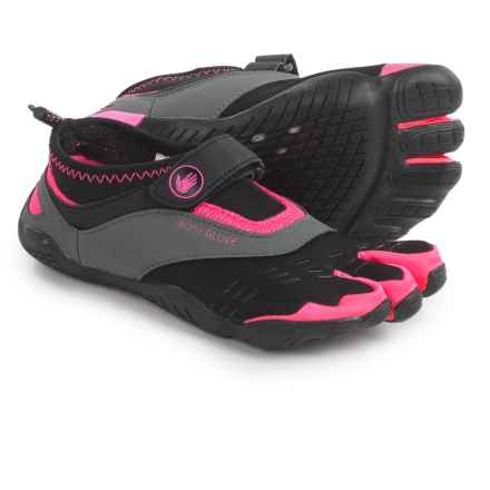 Body Glove 3T Barefoot Max Shoes - Minimalist, Amphibious (For Women) in Black/Neon Pink - Closeouts