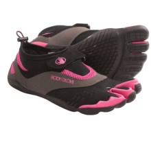 Body Glove 3T Barefoot Max Shoes - Minimalist, Amphibious (For Women) in Black W/ Pink Mesh - Closeouts