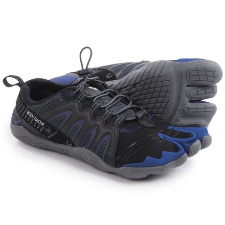 Body Glove 3T Warrior Shoes - Minimalist, Amphibious (For Men) in Black/Blue