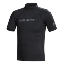 Body Glove 540 Rash Guard - Short Sleeve (For Men) in Black - Closeouts