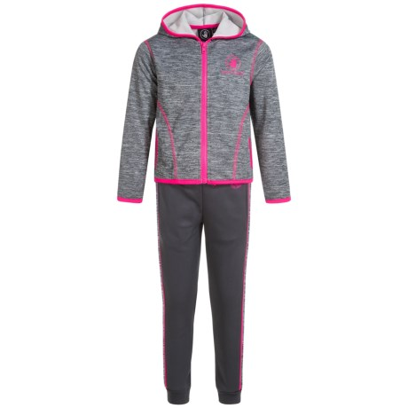 Body Glove Active Hoodie and Pants Active Set (For Little Girls)