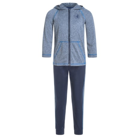 Body Glove Active Hoodie and Pants Set - 2-Piece (For Little Boys) in Navy