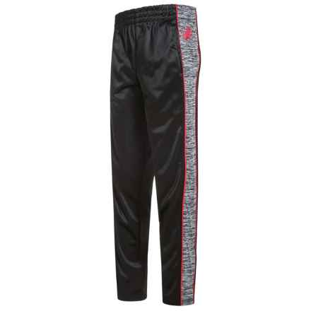 Body Glove Active Pants (For Big Boys) in Black/Red Piping - Closeouts