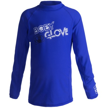 Body Glove Basic Junior Rash Guard - UPF 50+, Long Sleeve (For Kids and Youth)
