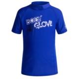 Body Glove Basic Junior Rash Guard - UPF 50+, Short Sleeve (For Little and Big Kids)