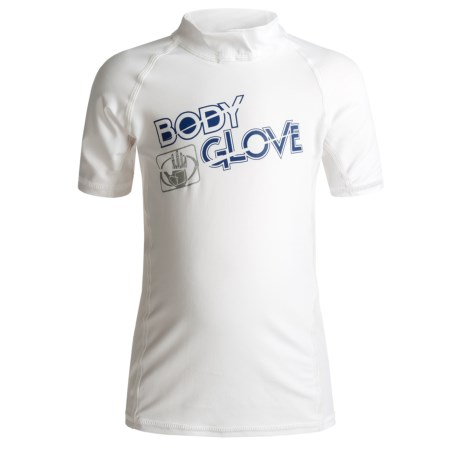 Body Glove Basic Junior Rash Guard - UPF 50+, Short Sleeve (For Little and Big Kids)