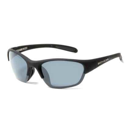 Body Glove Calabash Bay Sunglasses - Polarized in Black/Purple Mirror - Closeouts