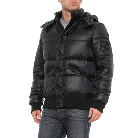db2ec3ee9d03 Body Glove Comfort Hooded Down Parka (For Men) in Black - Closeouts