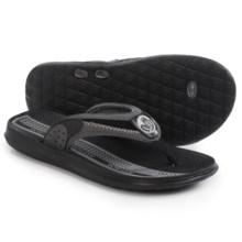 Body Glove Cruise II Flip-Flops (For Men) in Grey/Black - Closeouts