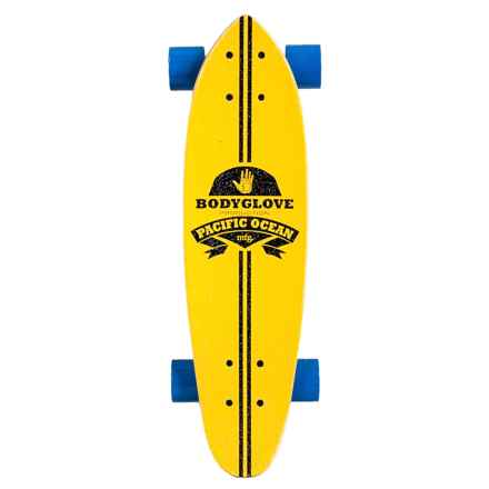 "Body Glove Cruiser Skateboard - 24"" in Yellow - Closeouts"