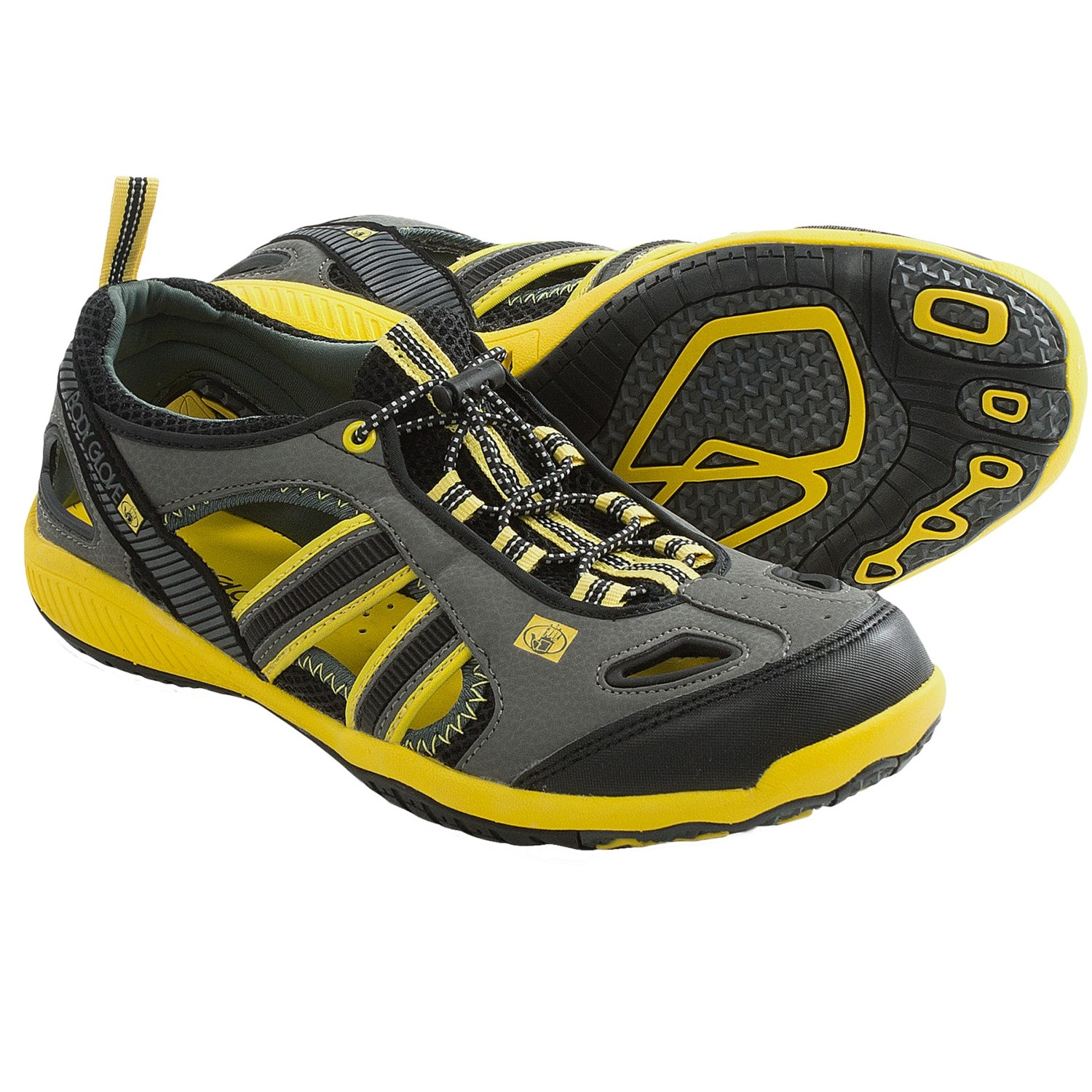 Body Glove Dynamo Force Water Shoes (For Men) in Black/Yellow
