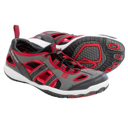 Body Glove Dynamo Force Water Shoes (For Men) in Grey/Red - Closeouts
