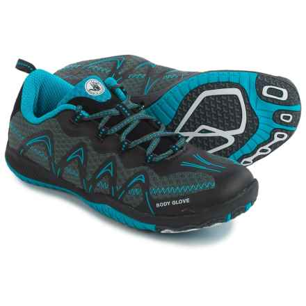 Body Glove Dynamo Spry Water Shoes (For Men) in Black/Neon Blue - Closeouts