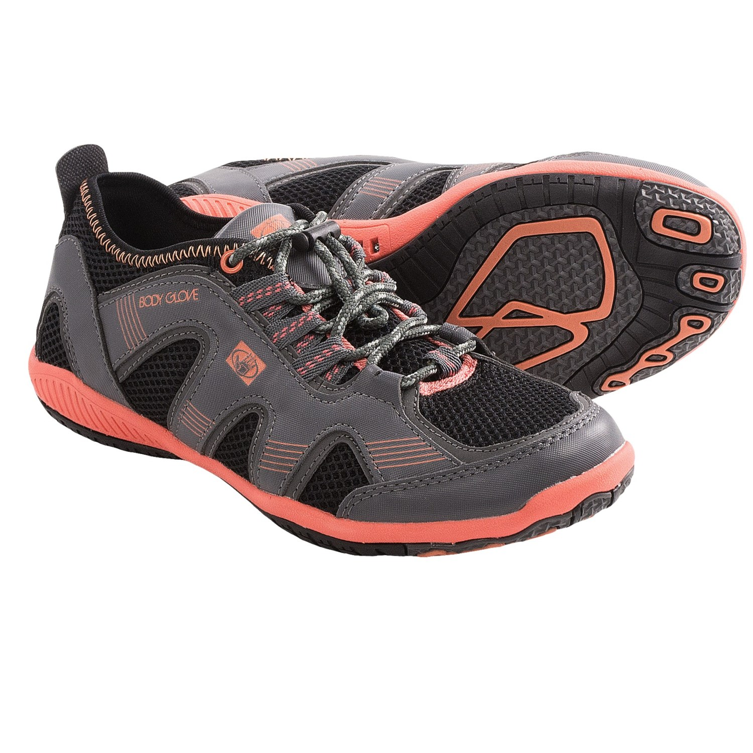 Body Glove Dynamo Water Shoes (For Women) in Black/Coral