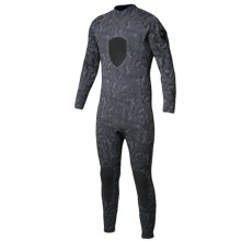 Body Glove EX3 Free Dive Full Wetsuit - 5mm (For Men) in Grey Camo - Closeouts