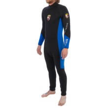Body Glove EX3 Full Suit - 7mm (For Men) in Black Camo/Sea Blue - Closeouts