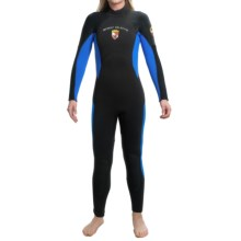 Body Glove Excursion Elite Dive Suit - 7mm (For Women) in Black/Blue - Closeouts