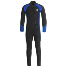 Body Glove Explorer X2 Diving Wetsuit - 5mm, John and Jacket Combo (For Men) in Black/Royal/Black - Closeouts